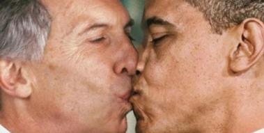 beso o macri