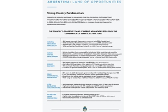 00 Argentina Land of opportunities