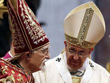 patriarca armenio y el papa