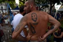 nestor tatuado en la espalda mi unico heroe en este lio