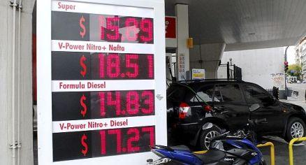 zzzznacp2 NOTICIAS ARGENTINAS,Baires abril 30: El Gobierno está estudiando junto a las empresas petroleras un nuevo aumento en el precio de los combustibles, que se vería reflejado en los surtidores a partir del domingo 1 de mayo.Foto: HUGO VILLALOBOSzzzz