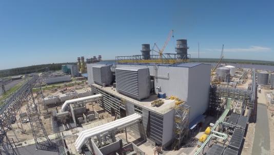 17 -Central Termoeléctrica Vuelta de Obligado, ubicada en Timbúes, Santa Fe (1)